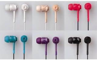 Illustration for article titled Elecom Rose EarDrops Phones: Rosebuds for Your Ears