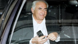 Illustration for article titled DSK Says He Was Just Trying To Kiss, Not Rape, French Writer