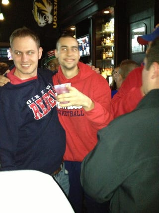 Illustration for article titled Here Are Some Photos Of Marshall Henderson Out Drinking After Yesterday's Win