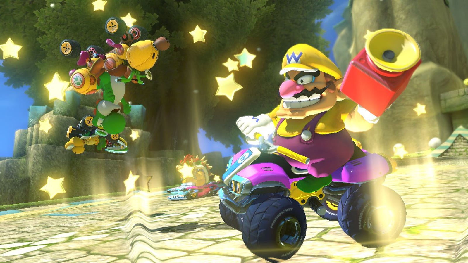 The Small Weird Way Nintendo Changed Mario Kart 8s Online Multiplayer Casio Calculator Ds 1ts 10 Digits