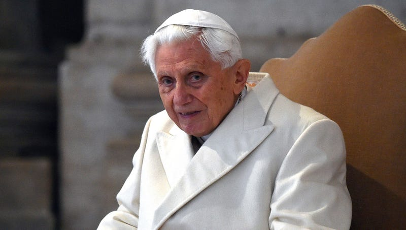 Illustration for article titled Retired Pope Benedict Pledges To Donate Soul For Ecclesiastic Research