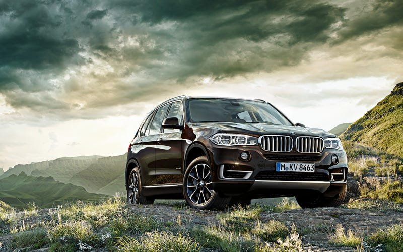 Illustration for article titled BMW X5