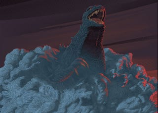 Illustration for article titled Bow Down to the Beauty of These New Godzilla Posters, Out Friday