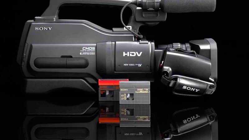 Sony Hvr Hd-1000U Entry-Level Pro Hdv Camera Heralds New -6561