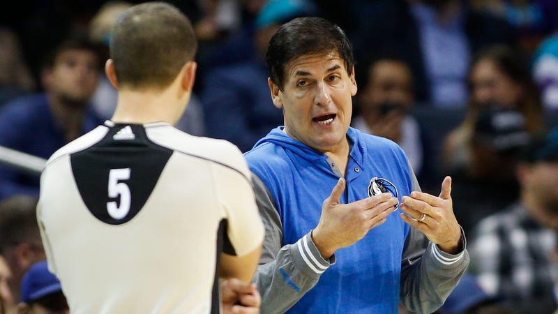 The NBA Refs Union Is Going To War With Mark Cuban