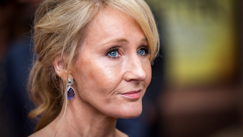 Illustration for article titled Not Messing Around: J.K. Rowling Just Threatened To Write A Short Story Where Harry Potter Drowns In A Septic Tank At Woodstock '99 If Fans Don't Do Something Big For Her Birthday