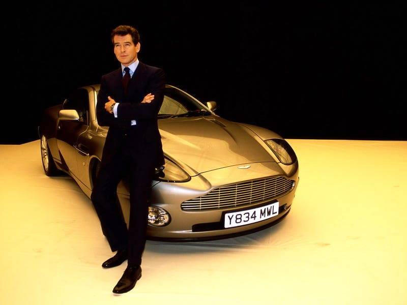 Illustration for article titled Pierce Brosnan Loses Aston Martin Vanquish In House Fire
