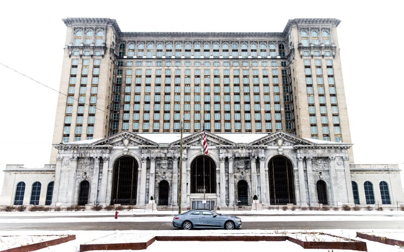 Illustration for article titled It Looks Like Ford Is Going To Buy And Rehab Detroit's Most Fabulous Ruin