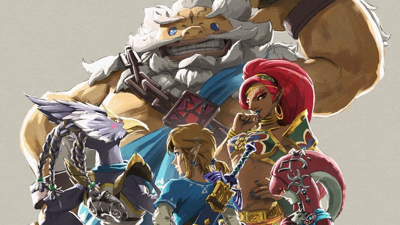 Illustration for article titled Zelda: Breath of The Wild's Second Expansion Is Still On Track For This Year, Nintendo Says