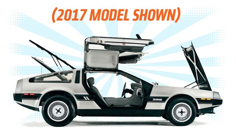 Illustration for article titled The DeLorean Is Coming Back Thanks To This New Law, Will Have 300-400 HP