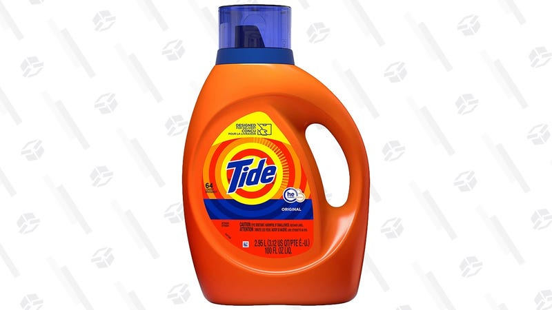 Tide 100 oz./64 Load Laundry Detergent | $10 | Amazon | Clip the $2 coupon