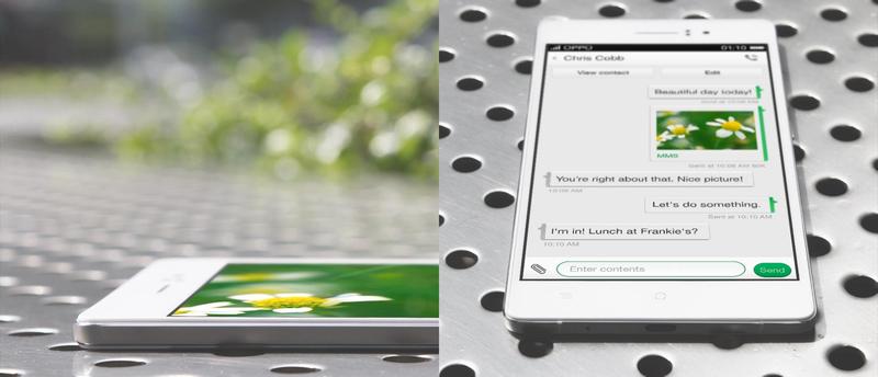 Illustration for article titled El Oppo R5 ya es el smartphone Android más fino del mundo: 4,8 mm