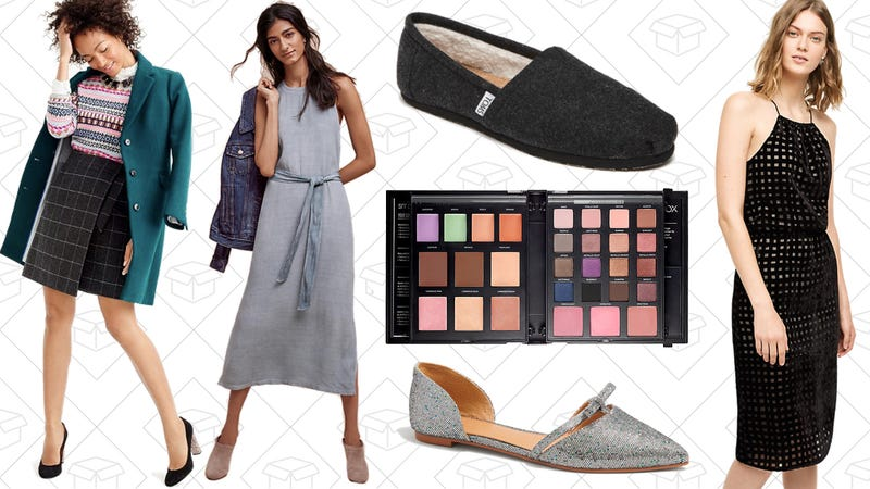 Illustration for article titled Today's Best Lifestyle Deals: J.Crew Factory, Anthropologie, Smashbox, TOMS, and More