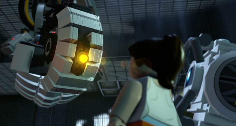 Glados Steals The Show In Lego Dimensions Portal Moments