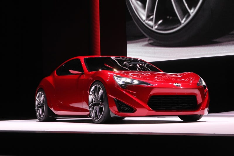 Illustration for article titled Scion FR-S Concept is so hot we can taste it