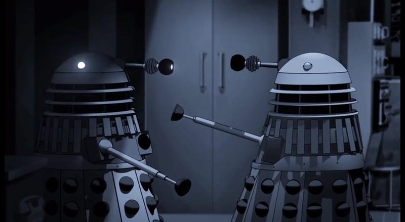 Illustration for article titled Power of the Daleks to be animated and released on DVD! [Update: Maybe not...] Update x2: HELL YES, IT IS!