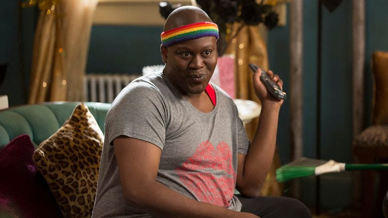 Tituss Burgess as Titus Andromedon on Netflix's Unbreakable Kimmy Schmidt