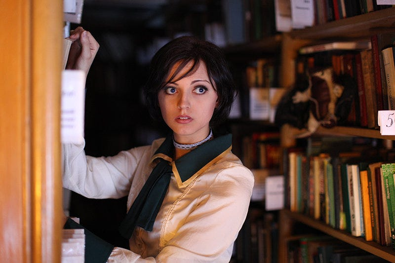 Illustration for article titled Gorgeous Bioshock Infinite Cosplay to get you excited for today!