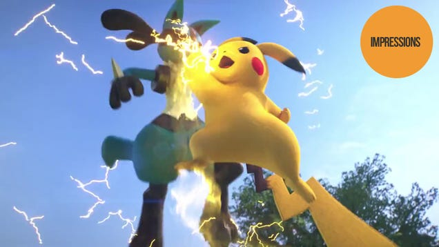 Hands-on With The Pokémon Fighting Game
