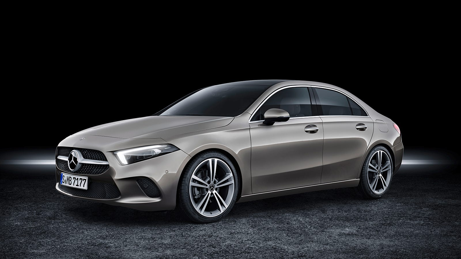 the 2019 mercedes a class is a great looking little sedan that 39 s new to america. Black Bedroom Furniture Sets. Home Design Ideas