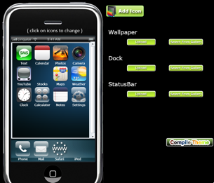 Illustration for article titled iPhoneThemeGenerator Makes It Easy to Customize Your iPhone