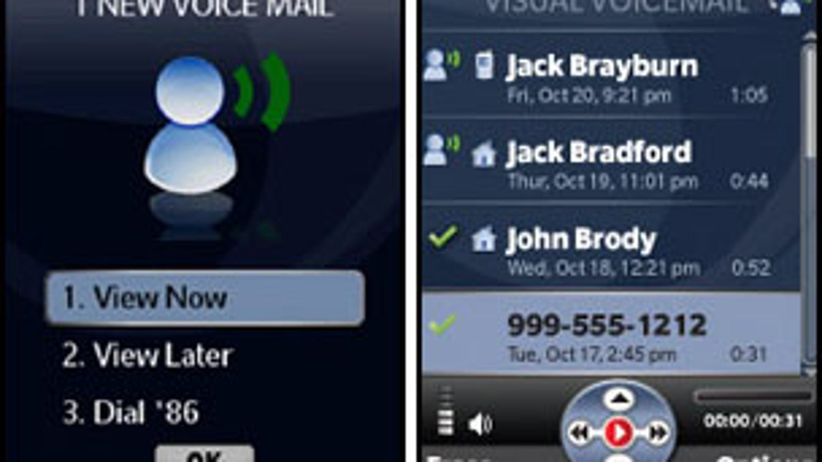 Verizon visual voicemail hits lg voyager sadly not free m4hsunfo