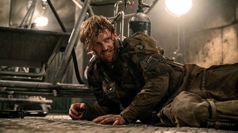 Wyatt Russell is one of the stars of Overlord, Bad Robot's first R-rated film (and not a Cloverfield movie).