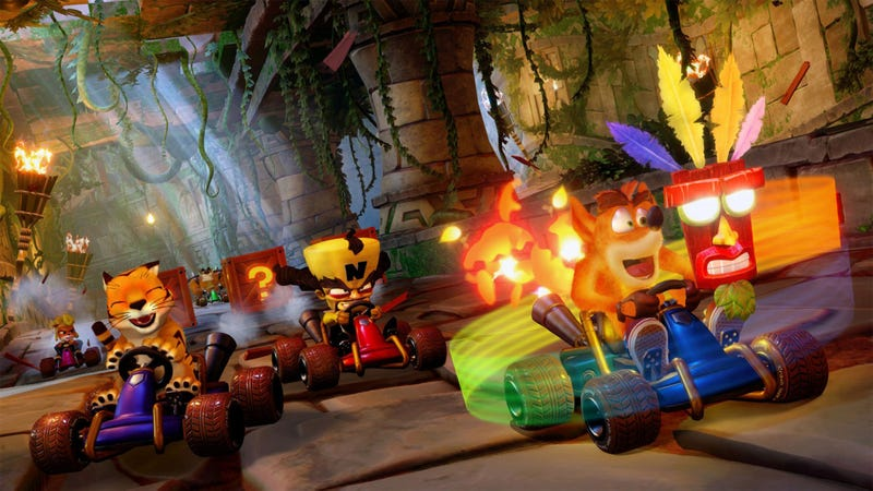 Illustration for article titled Review: 'Crash Team Racing Nitro-Fueled' Delivers Speed, Savagery, And Fun I Haven't Felt Since My Third DUI