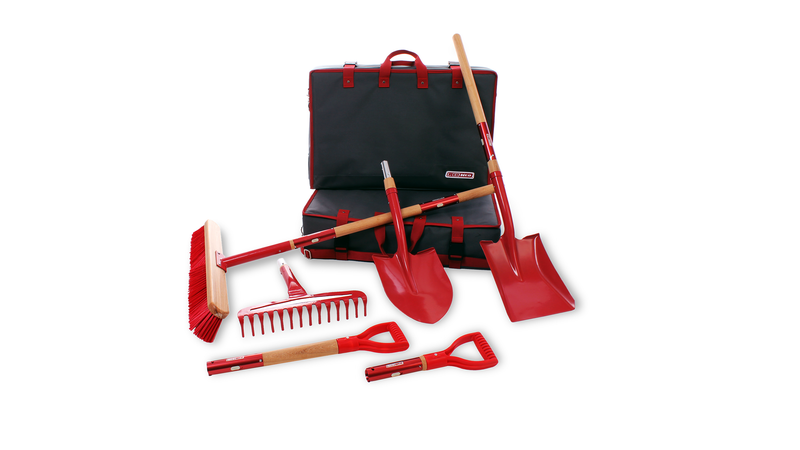 Illustration for article titled This Clever Modular Gardening Kit Fits 32 Big Tools Into One Small Bag