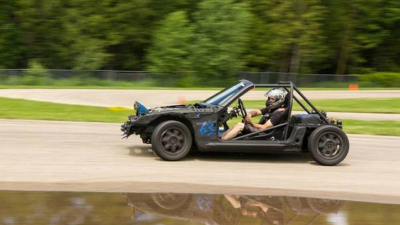 Track Day Genius Builds The Most Hilarious Miata