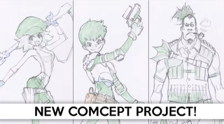 "Illustration for article titled Teaser for ""Red Ash"" Revealed for Mighty No. 9 Backers!"