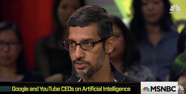 Google CEO Says AI Is  More Profound Than, I Dunno, Electricity or Fire