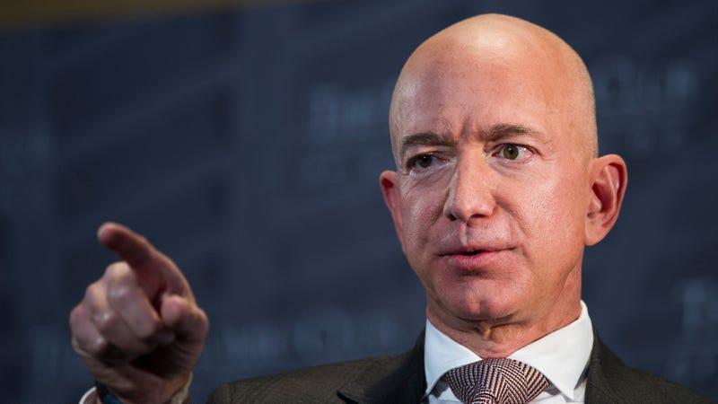 Amazon CEO and e-commerce overlord Jeff Bezos.