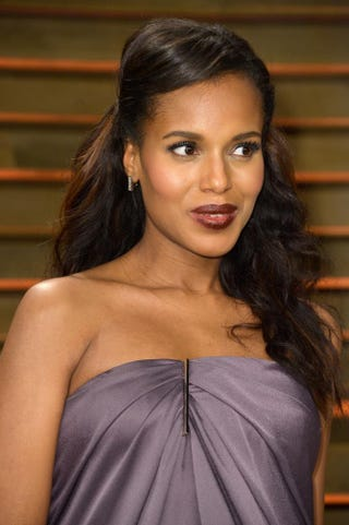 Kerry Washington attends the 2014 Vanity Fair Oscar Party hosted by Graydon Carter on March 2, 2014, in West Hollywood, Calif.Pascal Le Segretain/Getty Images