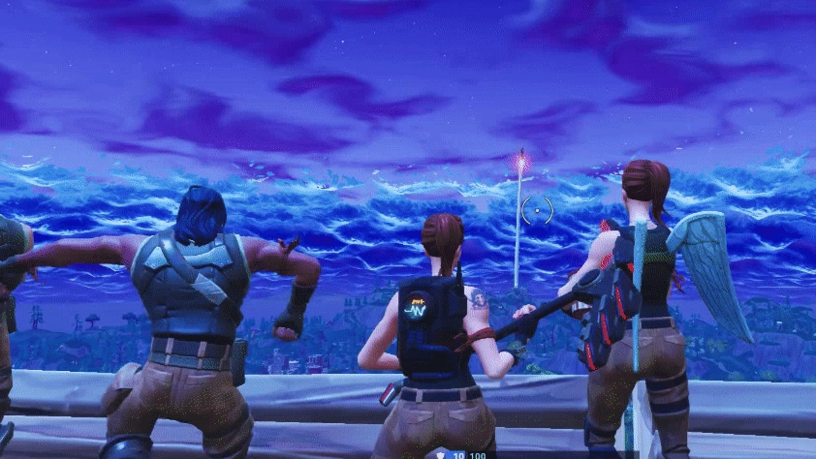 Fortnite Player Snags Kill Record By Wrecking Crowd Of Rocket-Watchers