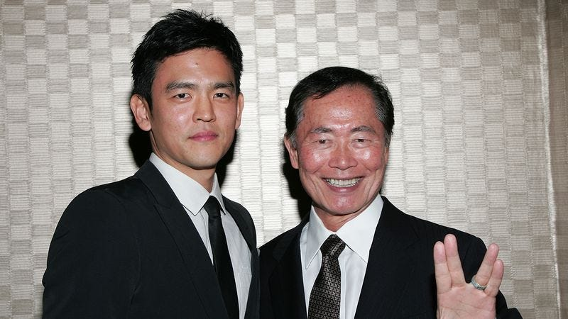John Cho and George Takei have both endorsed the letter, according to Trek Against Trump's Facebook page. (Photo: David Livingston/Getty Images)