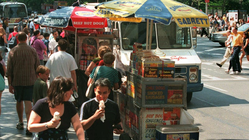 Illustration for article titled Food Carts Are A Terrorist Threat According To New York City