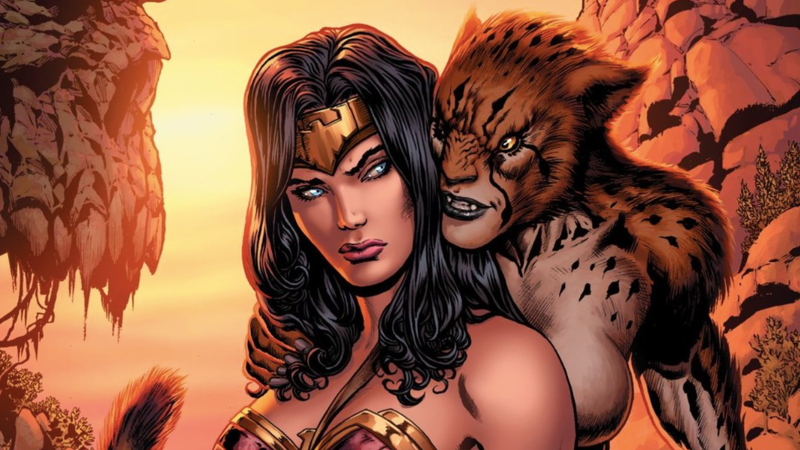 The cover of Wonder Woman #3 from the series that launched in 2016.
