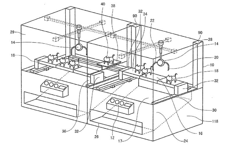 Illustration for article titled Can you tell what's going on in these bizarre patent illustrations?
