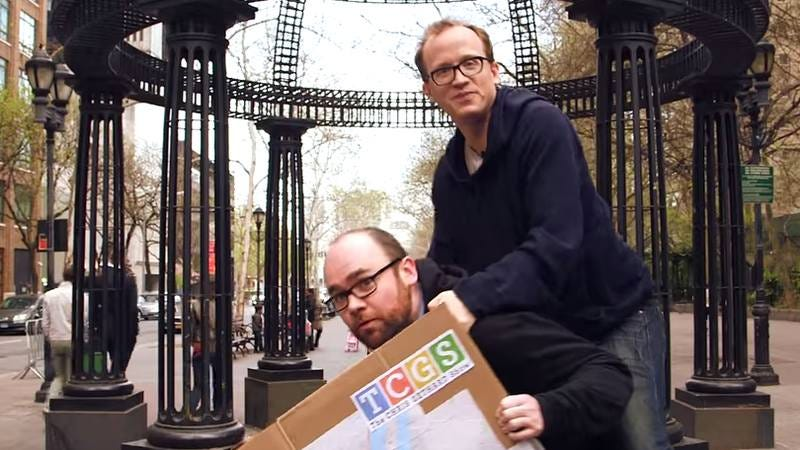 Illustration for article titled Chris Gethard wants his fans to literally carry him to his new show