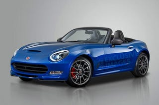 Illustration for article titled Fiat Miata will be called the 124 Spider