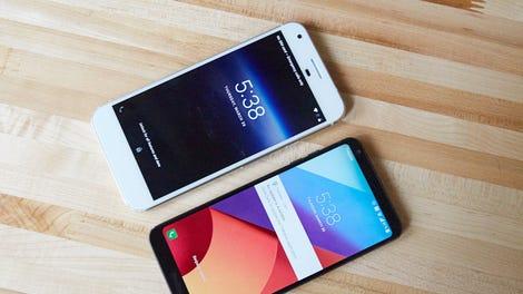 phone and phone
