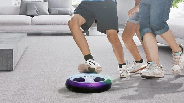 Play Life-Sized Air Hockey With This $15 Hover Ball