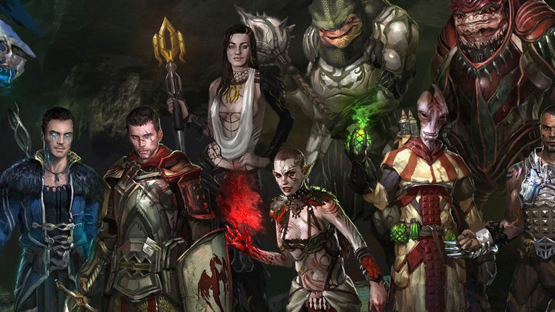 Illustration for article titled The Great Mass Effect & Dragon Age Crossover Project