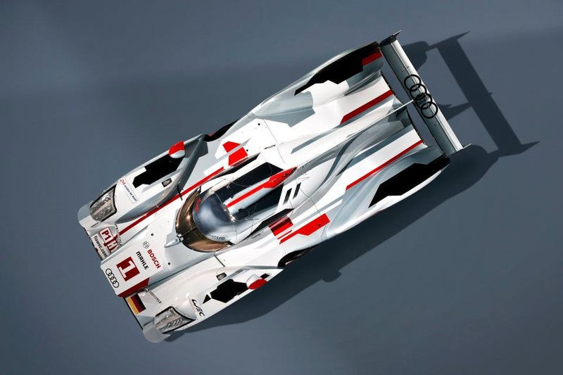 Illustration for article titled Audi R18 e-tron Quattro Hybrid: First Photos