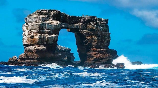 The Collapse of Darwin's Arch in the Galápagos Is Making Me Feel Very Existential Right Now