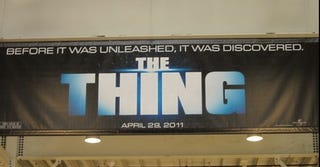 Illustration for article titled The Thing prequel: same name, new tagline