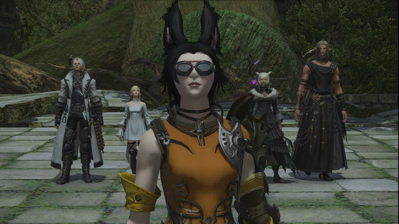 FinalFantasy XIV Lets You Run Dungeons With NPC Heroes Now