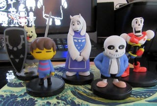 Illustration for article titled Undertale Vinyl Figures, Series 1: Photos and Review
