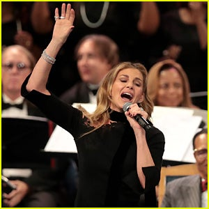 Illustration for article titled Faith Hill Sang at Aretha Franklin's Funeral?!